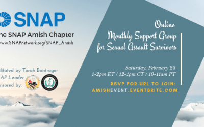 SNAP Amish – February Support Group