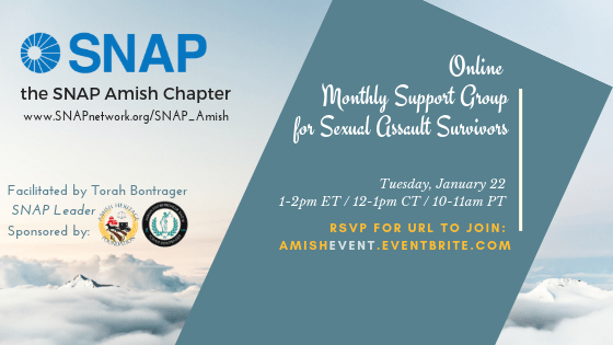 SNAP Amish – January Support Group