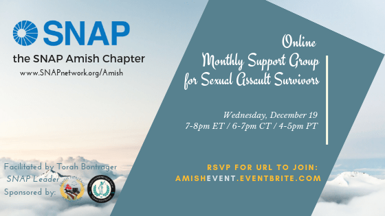 SNAP Amish – December Support Group